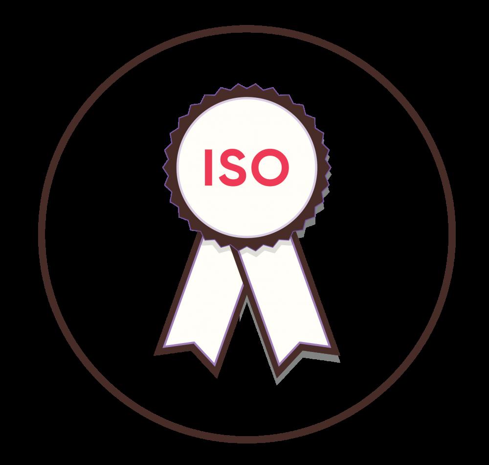 Thương hiệu đã có chứng nhận ISO